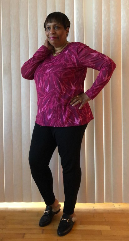 Pink leggings 2
